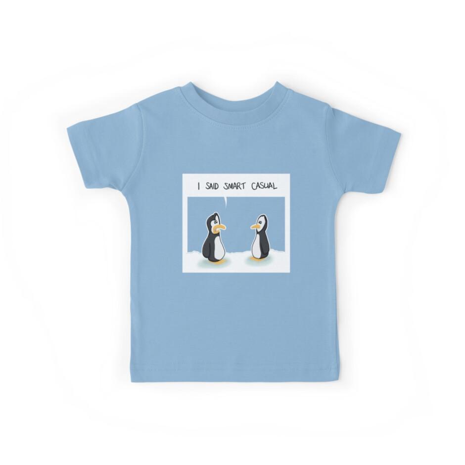 Dress code penguins by adraftee
