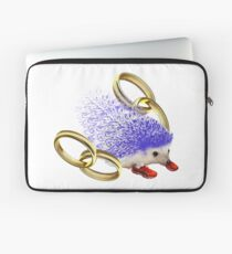 GOTTA GO FAST!! With Rings Version Laptop Sleeve