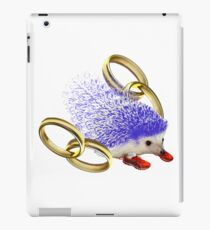 GOTTA GO FAST!! With Rings Version iPad Case/Skin