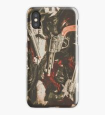 Playing cowboys and Indians iPhone Case/Skin