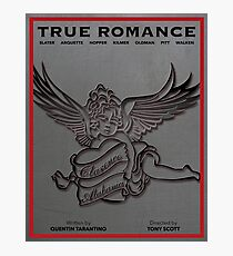 True Romance Vintage Movie Poster Photographic Print