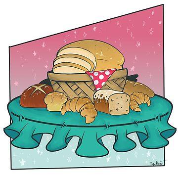 FANCY BREAD! by squidbiscuit