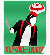 Cat in the Hat - Kupkake-Inator Poster