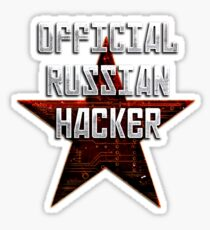 Official Russian Hacker Sticker