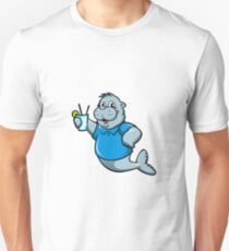 seal with ice beaker Unisex T-Shirt