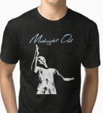 midnight oil Tri-blend T-Shirt