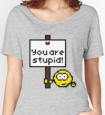 The Unfriendly Emoticon Women's Relaxed Fit T-Shirt