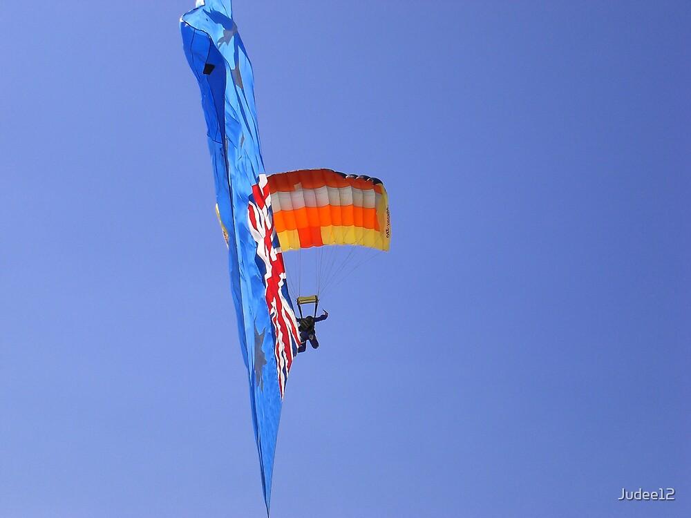 Australia Day Parachuting by Judee12