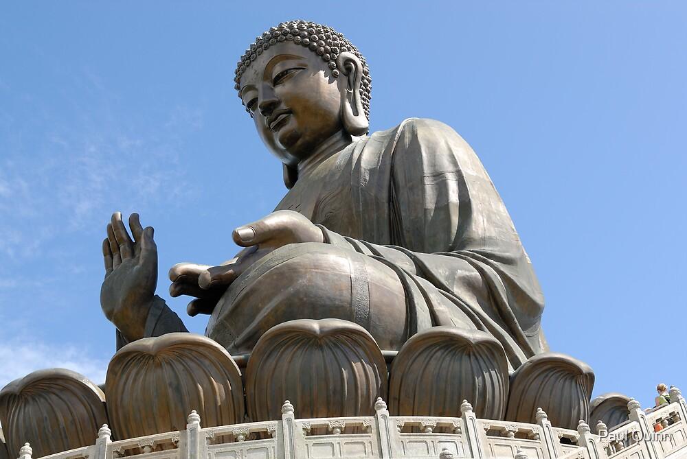 Tian Tan Buddha by Paul Quinn