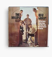 The Hollies, Beat Group Canvas Print