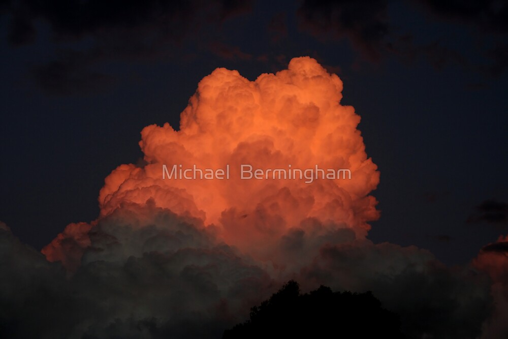 Eruption by Michael  Bermingham