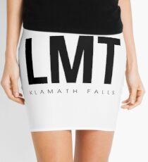 LMT - Klamath Falls Aiport Code Mini Skirt