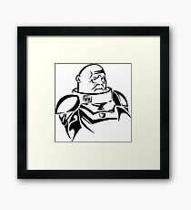 Strax Framed Print