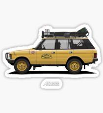 Range Rover Classic 4doors Camel Trophy Sticker