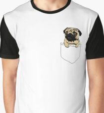 Pocket Pug Graphic T-Shirt