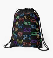 Computer game Drawstring Bag