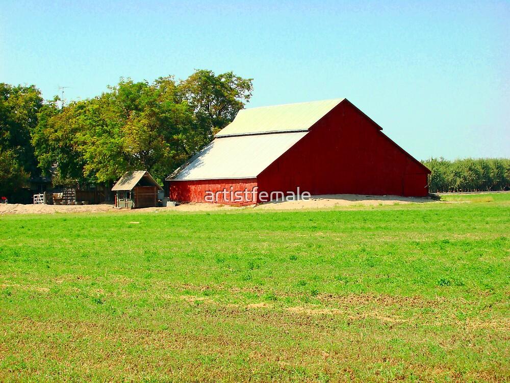 Rustic Barn by artistfemale