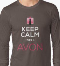 Keep Calm, I Sell AVON Long Sleeve T-Shirt
