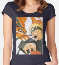 Naruto Women's Fitted Scoop T-Shirt