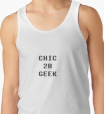 Chic 2b Geek part1 Tank Top