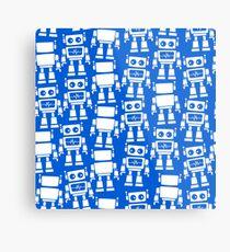 Little robots Metal Print