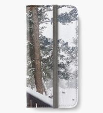 Frosted Trees iPhone Wallet/Case/Skin