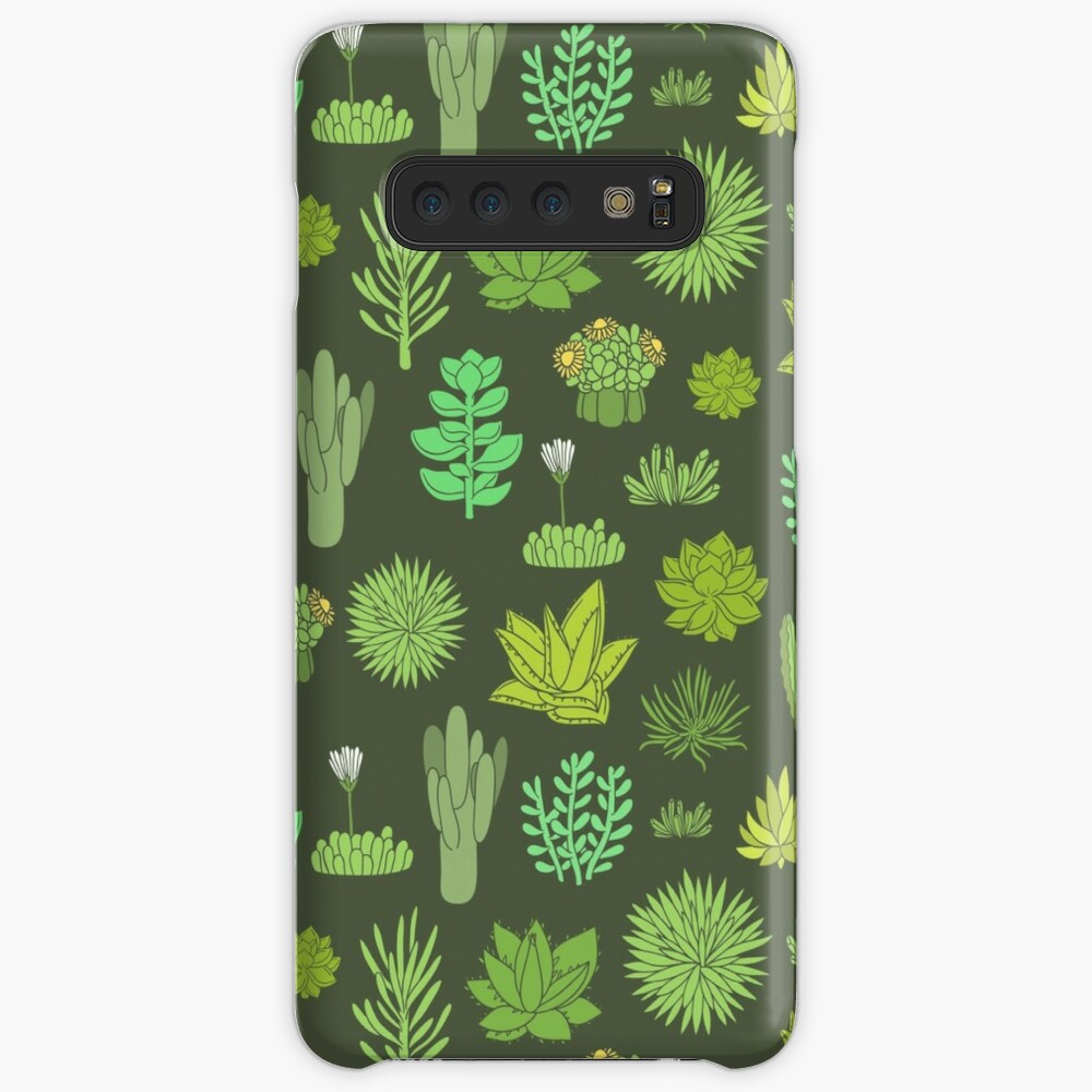 Succulents Case & Skin for Samsung Galaxy