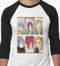 Naruto Men's Baseball ¾ T-Shirt