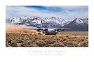 C-130 Hercules Mountain Departure by Kristoffer Glenn Pfalmer