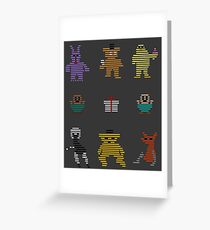 Five Nights At Freddy's Arcade Greeting Card