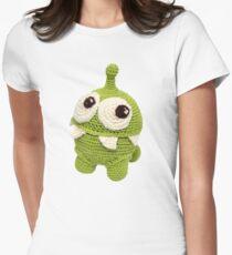Om Nom. lovely monster Women's Fitted T-Shirt