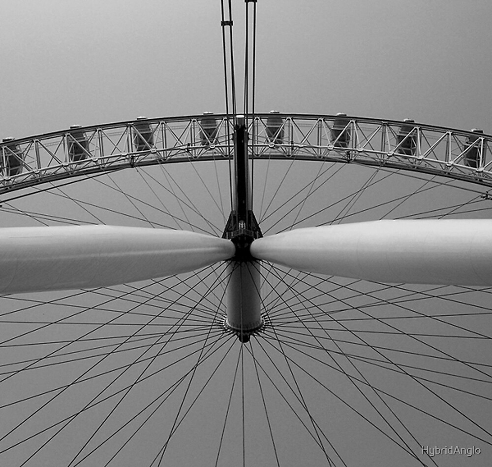 London Eye Overhead by HybridAnglo