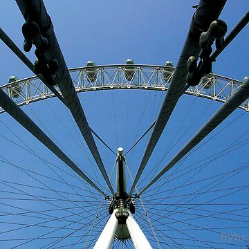 London Eye Supports by HybridAnglo