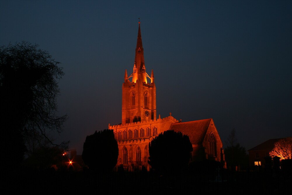 St Andrew's by Night #1 by David Pearson