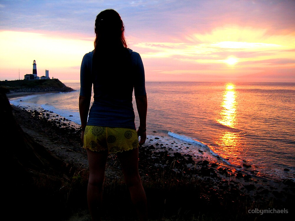 Sunrise at Montauk by colbymichaels