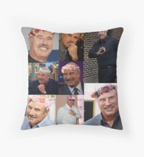 Flower Crown Phils Throw Pillow