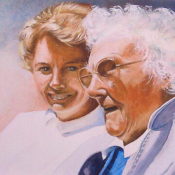 Hilda's 101st birthday by briantowers