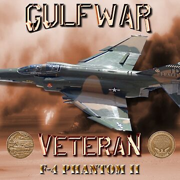 F-4 Phantom USAF Gulf War Veteran by BasilBarfly
