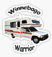 Winnebago Warrior Toyota Motorhome Sticker