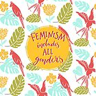 «El feminismo incluye todos los géneros» de Anna Kutukova