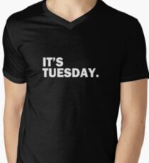 It's Tuesday Day of the Week T-Shirt - Funny Weekly Daily T-Shirt