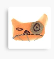 Bitter Cat Canvas Print
