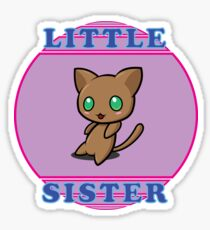 Chibi Cat - Little Sister Sticker