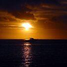 Fijian Sunset by Jodi Webb
