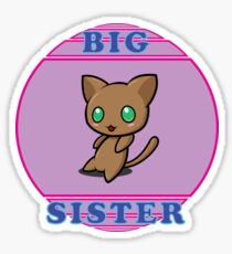 Chibi Cat - Big Sister Sticker