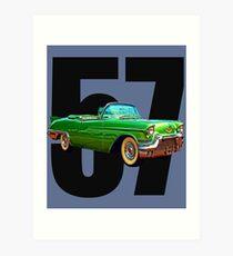 Cadillac Biarritz  Art Print