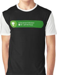 Achievement Unlocked - 20G Left the house Graphic T-Shirt