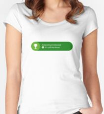 Achievement Unlocked - 20G Left the house Women's Fitted Scoop T-Shirt
