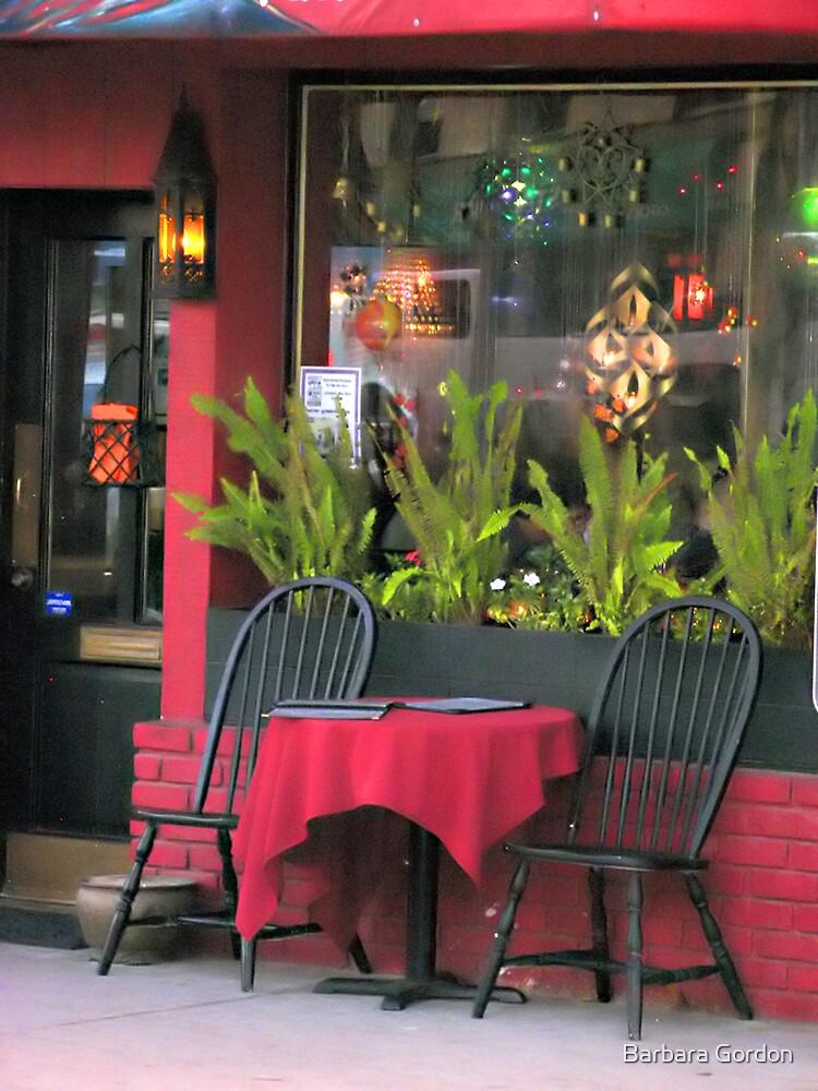 Raspberry Cafe by Barbara Gordon