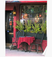 Raspberry Cafe Poster